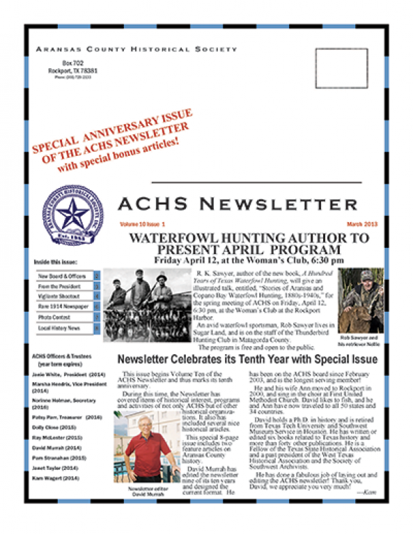 March 2013 – Volume 10 Issue 1