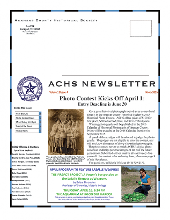 March 2015 –   – Volume 11 Issue 4