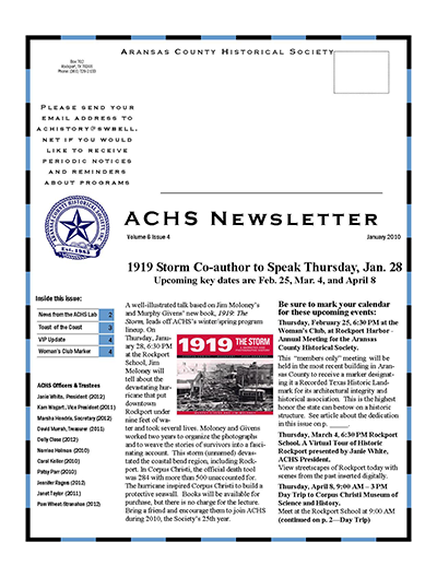 January 2010 – Volume 6 Issue 4