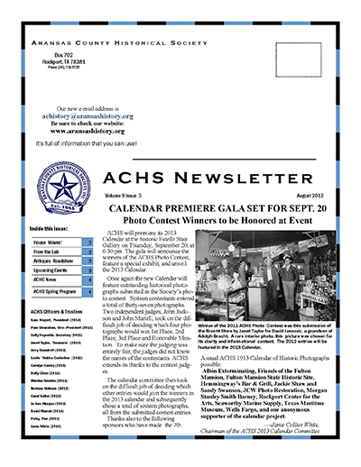 August 2012 – Volume 9 Issue 3
