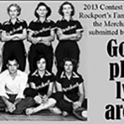 2013 Contest 3rd Place Winner, Rockport's Famous Softball Team, the Merchanetts, c. 1950, submitted by Sally Windrup