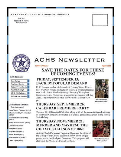 August 2013 – Volume 10 Issue 2