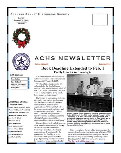 December  2014  – Volume 11 Issue 3