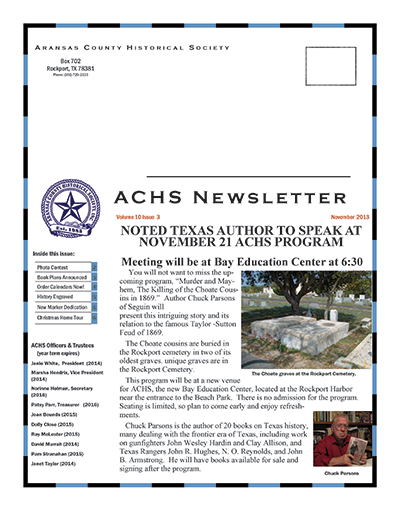 November 2013 – Volume 10 Issue 3